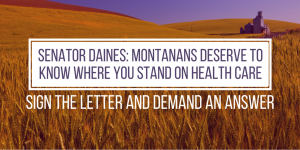 Daines health care answer