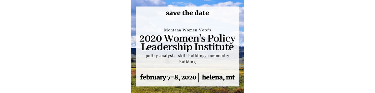 Women's Policy Leadership Institute