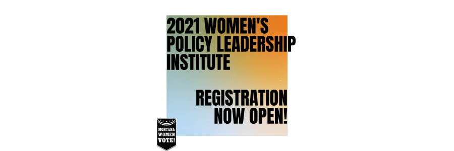 Register for the 2021 Women's Policy Leadership Institute!